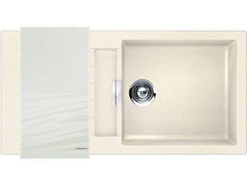 Schock Küchenspüle Signus D-100L, Auflage in Magnolia