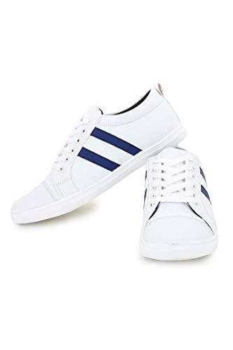 Digitrendzz Men's Sneakers/Casual Shoes/Shoes for Men's Casuals Sneakers/Unique Shoes White