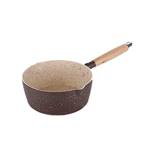 ZYING Olla de Cocina Universal fácil de Limpiar, Fideos, Antiadherente, Olla Anti escaldado, sartén para Nieve, Utensilios de Cocina para el hogar, Sopa de Leche