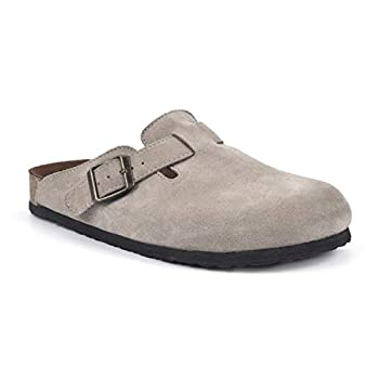 suede clogs for women