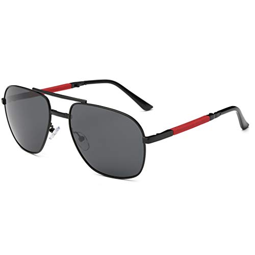 Best Buy! Ikevan_ Fashion Glasses Folding Polarized Eyebrow Pencil Sunglasses Lens Eyewear UV400 Pro...