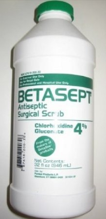 Betasept Antiseptic Surgical Scrub 32 OZ (Pack of 2)
