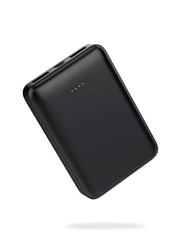 [Amazon限定ブランド] CLIENA モバイルバッテリー 10000mAh (最小最軽量 名刺サイズ スマートフォン2台同時充電可能 大容量) 国内サポート 国内作成マニュアル iPhone12Mini約3回 iPhone12Max iPhone12Pro約2.5回充電可能 iPhone12ProMax約1.5回充電可能 PSE認証済 JMB-Z100P-BK