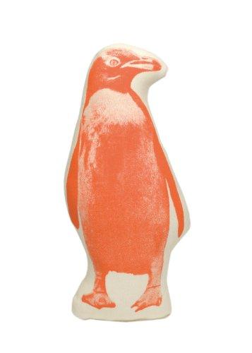 Areaware Pico Pillow Penguin Kissen, Stoff, mehrfarbig