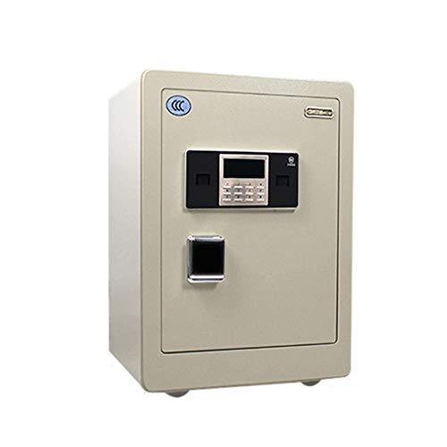 RTYUI Caja de seguridad para contraseña inteligente 3C para el hogar, todo de acero, 50 cm, 60 cm, 70 cm, color : botón de contraseña, tamaño: 500 mm)