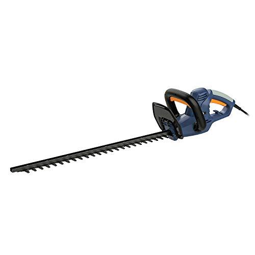 BLUE RIDGE BR8202 600W Elektro Heckenschere mit 655 mm Klingenlänge, Dual-Action-Klinge, 16 mm Zahnabstand
