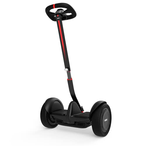 Segway Ninebot S-Max Smart Self-Balancing Electric Scooter with LED Light, Portable and Powerful, Black