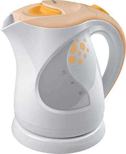 Sencor SWK 1001OR Bouilloire électrique - 2000W - 1 litre - Filtre amovible et lavable pour éliminer les impuretés et les dépôts - Orange