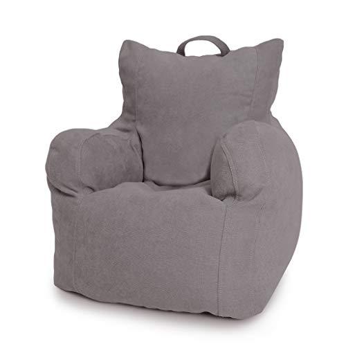 SD Bean Bag Chaise Fauteuil Canapé A des Poches Latérales avec Poignée Confortable Convient pour Intérieur Et Extérieur Enfants Et Adultes 51 * 51 * 56 cm
