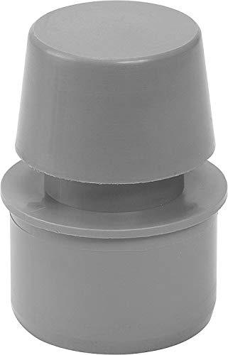 Rohrbelüfter aus PP für Abflussrohre DN 50, grau