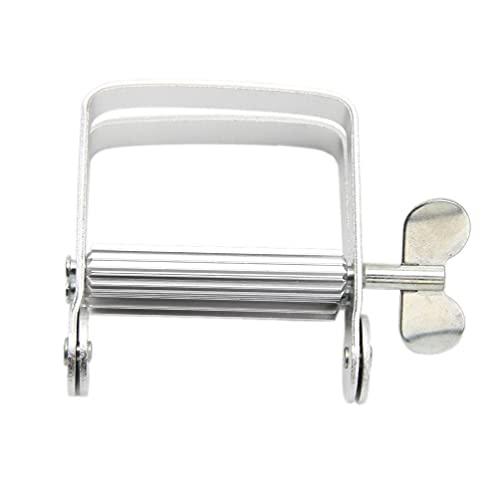 Spremiagrumi in alluminio per dentifricio e dentifricio, strumento per il bagno, casa, fai da te, dentifricio, in acciaio inox, spremitrici, dentifricio in metallo, dispenser automatico
