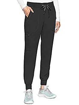Med Couture Touch Women s Jogger Yoga Pant Black X-Large