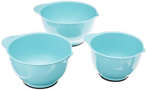 KitchenAid Classic Mixing Bowls, Set of 3, Aqua