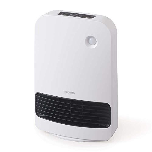 人感センサー付き大風量セラミックファンヒーター KJCH-12TD5-W ホワイト