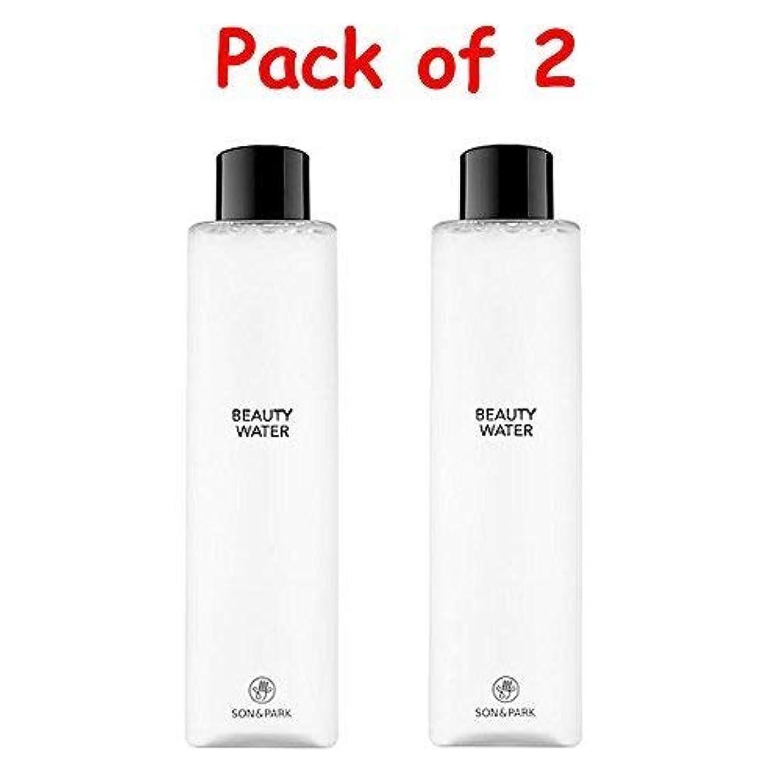 上陸に対して小さい★1+1 Sale★[SON & PARK]Beauty Water 340ml (Pack of 2) /[ソン & パク] ビューティー ウォーター 340ml (1+1)