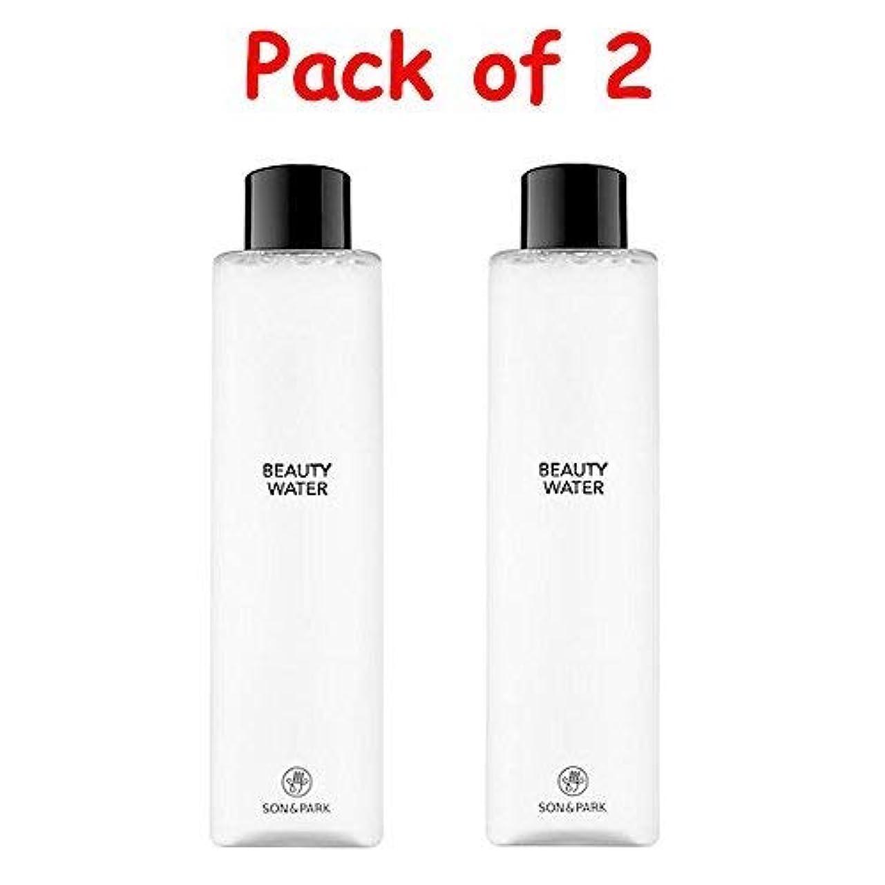 聖職者走るリンス★1+1 Sale★[SON & PARK]Beauty Water 340ml (Pack of 2) /[ソン & パク] ビューティー ウォーター 340ml (1+1)