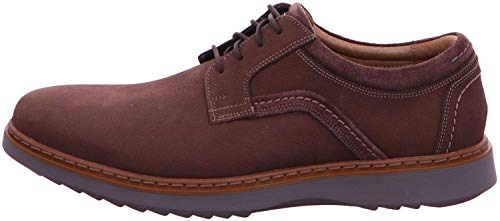 Clarks Un Geo Lace Mens Wide Fit Casual Shoes 8,5 Relax Slippshalhalb42,5 Relax Slipps0 Dunkelbraun