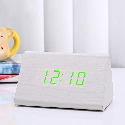 GYHJGDigitaler Wecker, Digitaluhr mit Schlummerfunktion, Bequeme Einstellung in Einer Minute, sehr geeignet für Schlafzimmer, Keine Schwierigkeiten beim Aufstehen