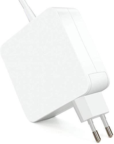 New Net Alimentatore Caricabatteria compatibile con Mac 15' 17' (anni 2008, 2009, 2010, 2011, 2012) A1172 A1260 A1290 A1184 A1229 A1343 A1185 A1222 A1172 85W connettore' L' Style