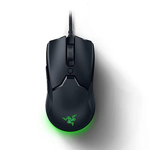 Razer Viper Mini - Kabelgebundene Gaming Maus mit nur 61g Gewicht für PC / Mac (Ultraleicht, beidhändig, Speedflex-Kabel, optischer 8.500 DPI Sensor, Chroma RGB Beleuchtung) Schwarz