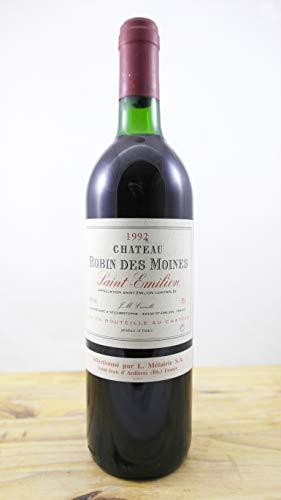 Vino Cosecha 1992 Château Robin des Moines Botella