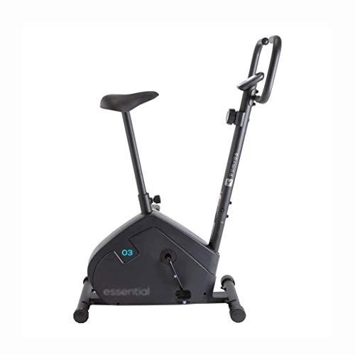 WEI-LUONG Plegable Inicio de la Aptitud Bicicleta Bicicleta de Gimnasio de Hilado Bicicleta en Interiores aparatos de Ejercicios de Silencio Bicicleta estática (Color: Negro, tamaño: 87 * 48 * 121cm)