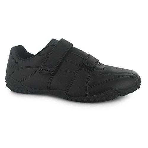 Lonsdale Hombre Fulham Zapatillas Deportivas Negro/Negro 48 1/3 EU