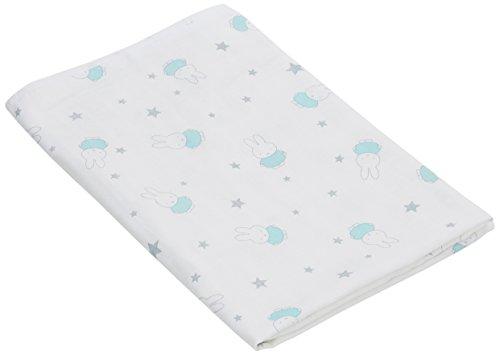 Miffy Hydrofiele handdoek met capuchon jade