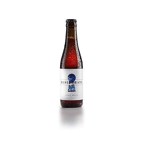 Desiderata - Doble Malta - Cerveza artesana 100% natural sevillana, sin aditivos, conservantes ni colorantes. Refermentada en botella - Sabor a caramelo, malta y toffee - 1 uds.