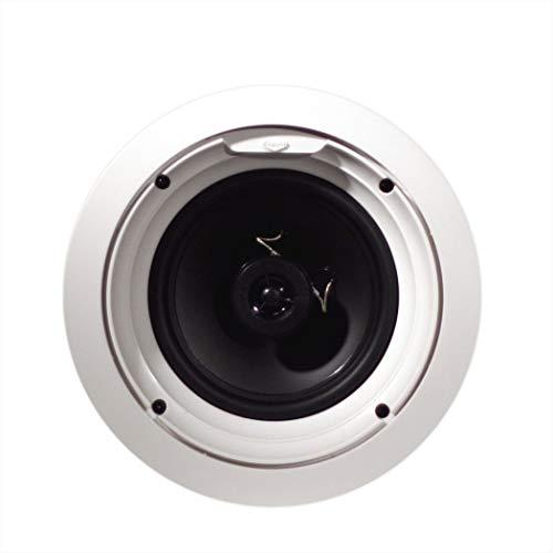 Klipsch R-1650-C In-Ceiling Speaker - White (Each) (Renewed)