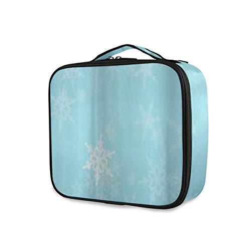 SUGARHE Congelado Plata Nevado Navidad Copos de Nieve Azul Frío Invierno Cayendo...