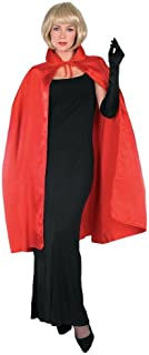 Costume Satin Cape with Collar 3/4 Length Costume