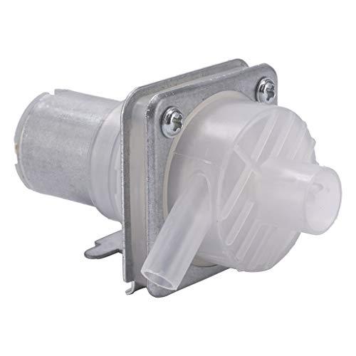 Yinuneronsty Mikro-Spender für Wasserabsaugpumpe Gleichstrom 8-12 V Pumpe mit Elektromotor Pumpe, offene Flasche