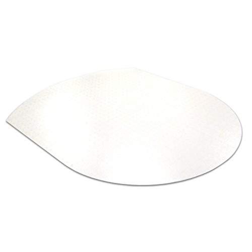 Floortex Bodenschutzmatte, hochtransparent, 99 x 125 cm