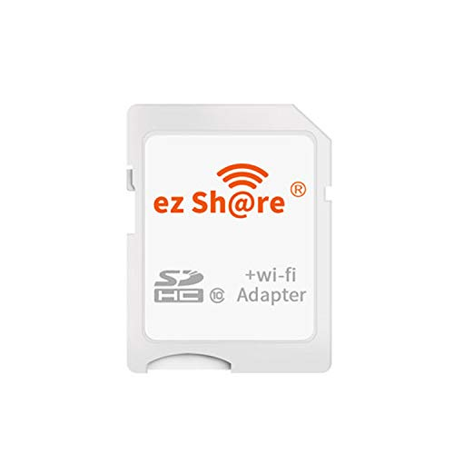 ez Share 8GB 16GB 32 GB Adapter WiFi SDHC Card Class10 SD Card Wireless Camera Memory Card for Camera (Adapter)