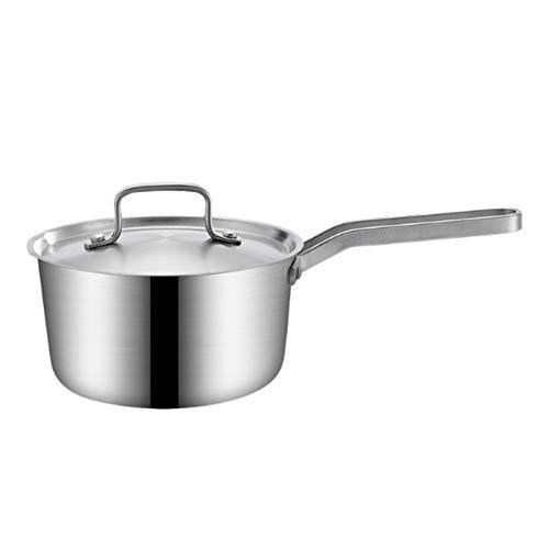 Pentola multifunzione in acciaio inox per uova bollente o riso per cuocere pasta di verdure e molto altro ancora con coperchi in acciaio e resistente al calore
