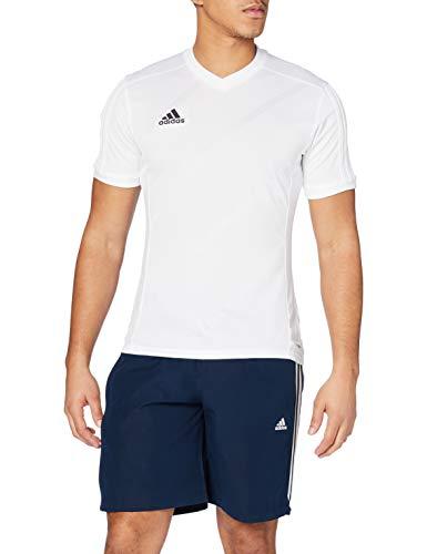 adidas Tabe 14 JSY - Camiseta para hombre, color blanco, talla L