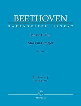 Beethoven  Mass in C Major Op 86  Vocal Score