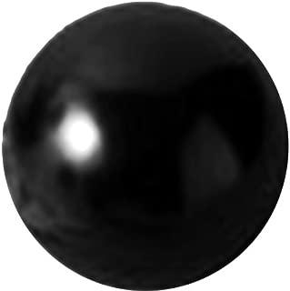 Davies Thermoset Ball Knob, Smooth Rim, Threaded Hole, 3/8