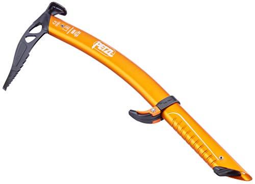 PETZL Erwachsene gullyice Eispickel, orange, 45cm