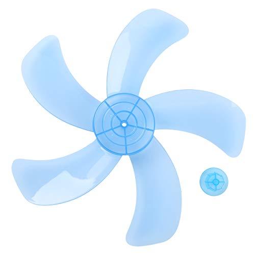 Alvivi 16 Inches Aspas Plásticas 3/5 Hojas de Ventilador Con/Sin Tuerca para Ventilador de Techo de Pie de Mesa Hojas Repuestos para Ventilador Azul cielo 12 Inch