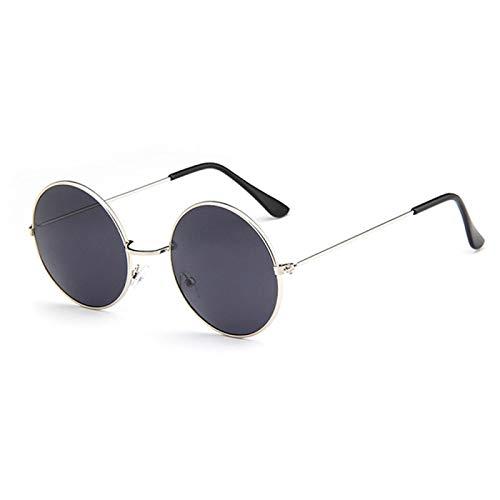Sunglasses Gafas de Sol de Moda Gafas De Sol Redondas Clásicas para Hombres Y Mujeres, Pequeñas Gafas Retro Vintage para