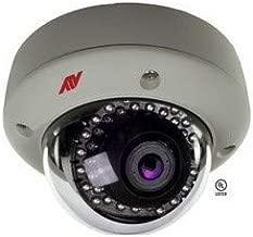 ATV -ADVANCED TECHNOLOGY VIDEO IPVD3TI Security IP Camera Vandal Dome, Zoom, Indoor/Outdoor, Day/Night, H.264/MJPEG, 3mp Resolution, Varifocal Auto Iris 2.8 to 12 MM Lens, 4 GB, 12 VDC, 450