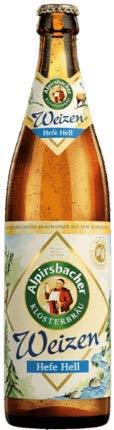 Alpirsbacher Klosterbräu Weizen Hefe Hell 30 Flaschen x0,5l