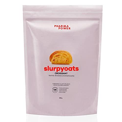 Farina D'avena Aromatizzata SlurpyOats - 900g - SENZA GLUTINE, NO OGM - Altamente digeribile, gusti sorprendenti! (Croissant)