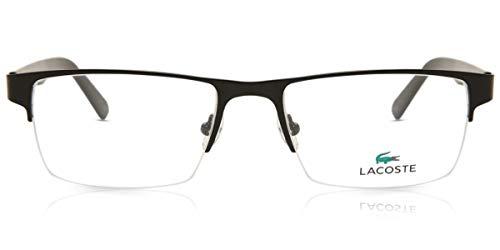 Lacoste Herren L2237 002 53 Brillengestelle, Schwarz (Matte Black)