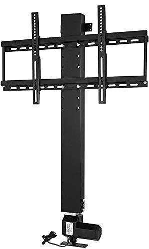 Anciun Elektrisch TV Lift Standfuß Bracket Fernsehhalterung Höhenverstellbar Deckenhalterung für 26-57 Zoll Fernseher Halterung +Fernbedienung (700mm)