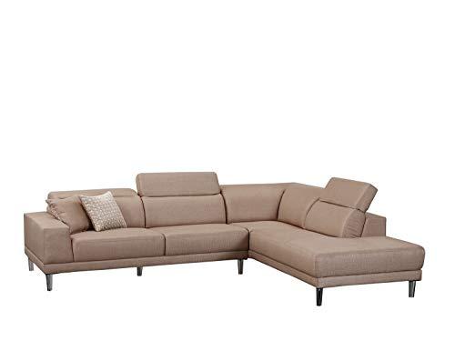 Blackjack Furniture 632 Arturo Collection Modern Microfiber Sectional Sofa