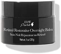 100% PURE Retinol Restorative Overnight Balm, Anti-Aging Night Cream, Pure Retinol Cream, Sleep Balm for Hyperpigmentation, Moisturizing Face Cream For Even Skin Tone (1 oz)