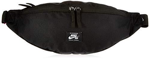 Nike Unisex-Erwachsene Hip Pack-Woven BA6445-010 Adult Nk Sb Heritage Hüfttasche aus gewebtem Bund, schwarz/weiß, Einheitsgröße, Talla Única